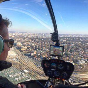 Helicopter ride Belgrade