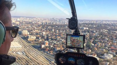Helicopter ride over Belgrade %%sep%% Party in Belgrade Activtities