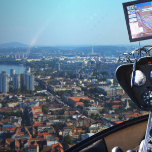 helicopter flight