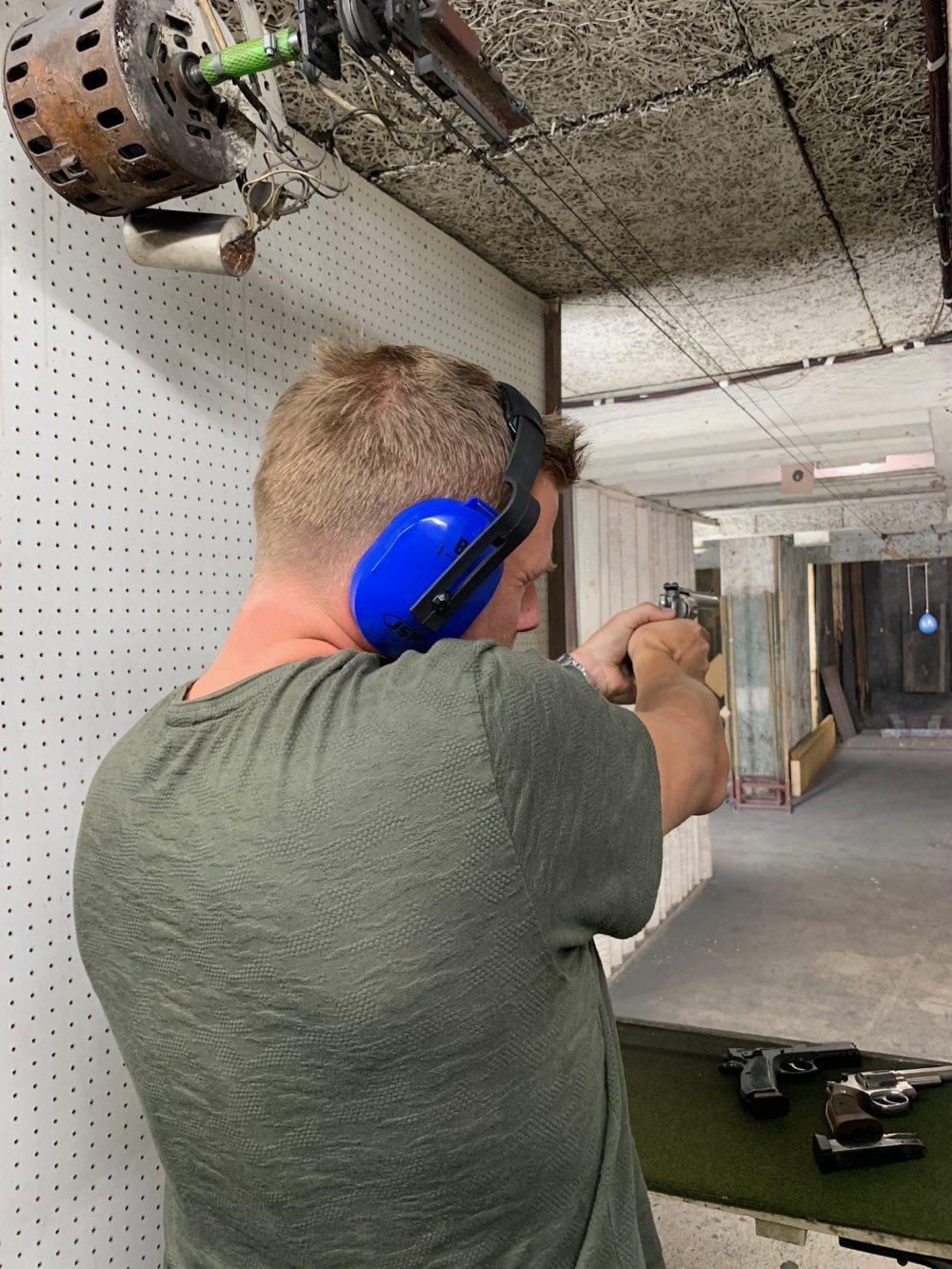 indoor shooting