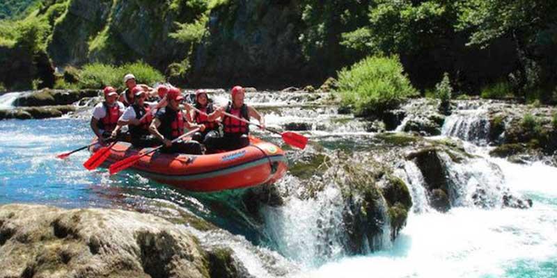 Party In Belgrade - Adventure - Rafting on river Tara 2