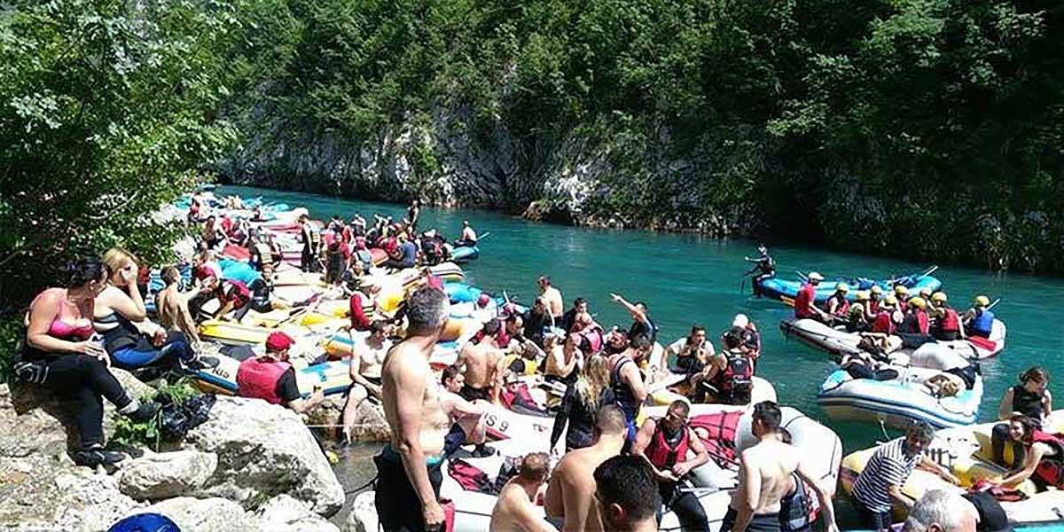Party In Belgrade - Adventure - Rafting on river Tara 3