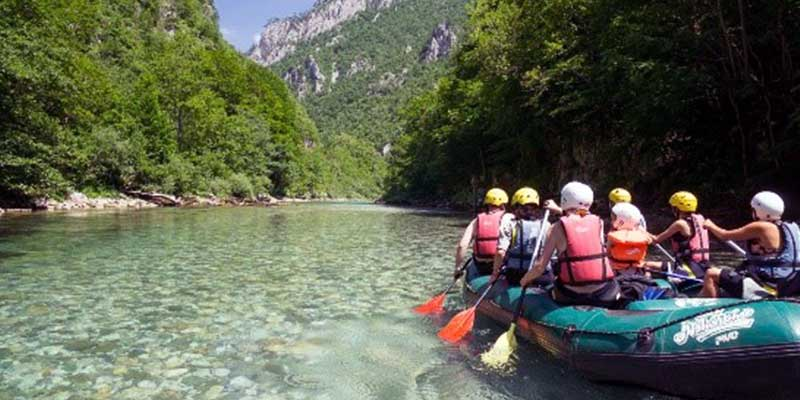 Party In Belgrade - Adventure - Rafting on river Tara