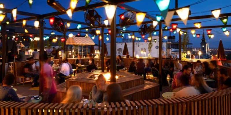 Party In Belgrade - Bachelorette - The best rooftop bar in Belgrade