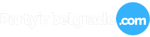 Party in Belgrade logo white 600x150