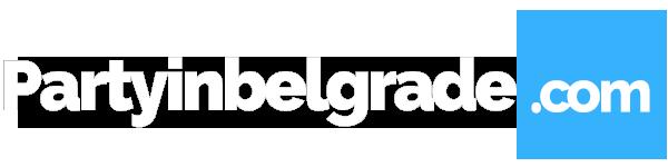 Party in Belgrade logo white 600x150